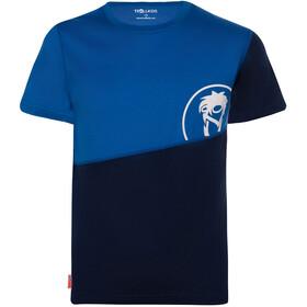 TROLLKIDS Sandefjord T-Shirt Kids navy/medium blue